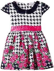 Peppermint Baby Girls' Dress (L-AC-DRS-2151-3780_Indigo_16)