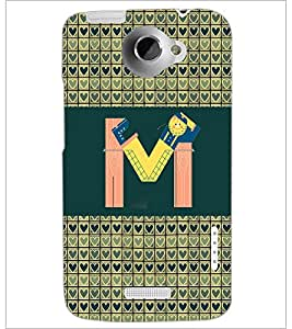 PrintDhaba GRANDbet M D-4145 Back Case Cover for HTC ONE X (Multi-Coloured)