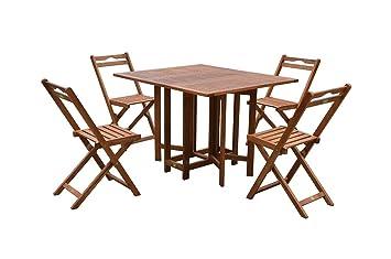 Gravidus praktische 5-teilige Sitzgruppe, klappbar
