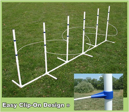 Clip-On Weave Wire Guides (for 6-pole weave set)