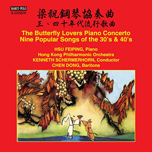 The Butterfly Lovers Piano Concerto - Nine Popular Songs of the 30s & 40s