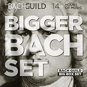 Various Artists: The Bach Guild Bigger Bach Set (MP3 Album Download) $0.99