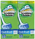 Scrubbing Bubbles Fresh Brush Max Refill 8 count (2 Pack)