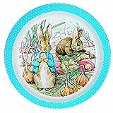 Petit Jour Peter Rabbit azul melamina Plate