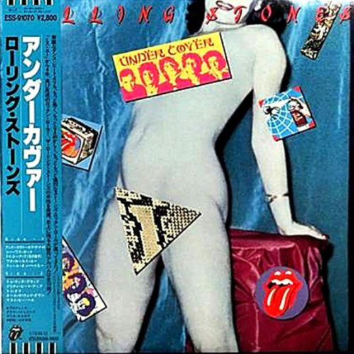 Under Cover - Japanese pressing with OBI strip by Rolling Stones, Mick Jagger, Keith Richards, Charlie Watts and Bill Wyman