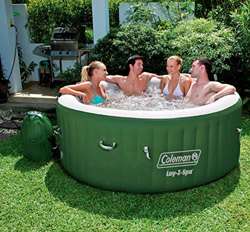 Coleman Lay-Z Spa Inflatable Hot Tub front-894636