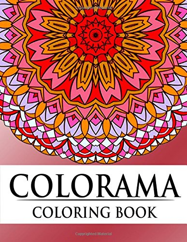 Colorama Coloring Book: Relaxation Series