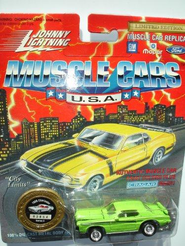 Johnny Lightning 1994 Muscle Cars USA Green 1969 Eliminator Series 8 - 1