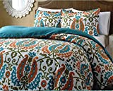 Super India Printed Micro Fiber Double Bed Comforter/Quilt set with two pillow cases (Vulture)