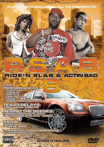 Rsab8: Ridin Slab & Actin Bad [DVD] [Import]