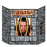 Beistle 57985 Jail Decorative Photo Prop, 3-Feet 1-Inch by 25-Inch