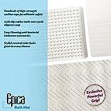 """Anti-Slip Anti-Bacterial Bath Mat 16"""" x 28"""""""