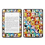 Disney Friends Design Protective Decal Skin Sticker for Amazon Kindle Paperwhite eBook Reader (2-point Multi-touch)