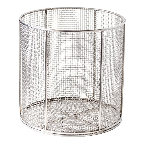 Anysizebasket azn 060rnd060 n04s round stainless steel mesh basket with no ha - Diametre cercle basket ...