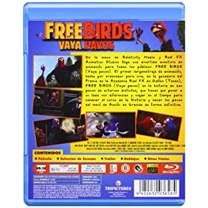 Free Birds (Vaya Pavos) (Br3d) (Blu-Ray) (Import) (2014) Jimmy Hayward