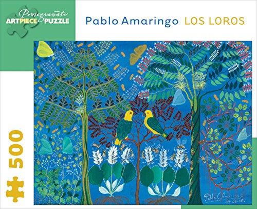Amaringo/Los Loros 500 Piece Puzzle Jigsaw Puzzle 9 x 11in