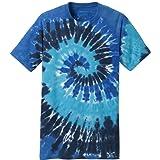Koloa Surf Co.(tm) Colorful Tie-Dye T-Shirt,XL-Ocean Rainbow