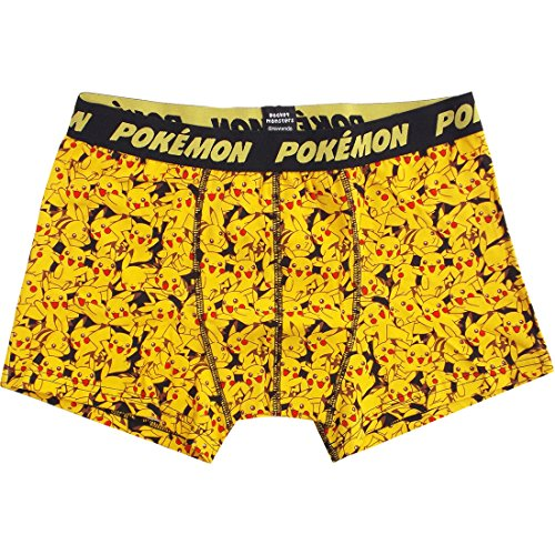 Pokemon boxer briefs M size Pikachu chock PMAP396