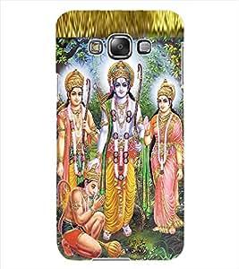 ColourCraft Lord Ram Laxaman Janaki and Hanuman Design Back Case Cover for SAMSUNG GALAXY GRAND MAX G720