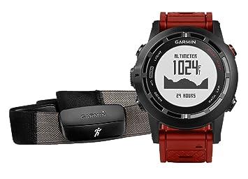 Garmin Fenix 2 Performer (Hrm) Special Edition - Montre GPS Outdoor - Altimètre, Baromètre et Compas Électronique (ABC) avec Ceinture Cardiofréquencemètre