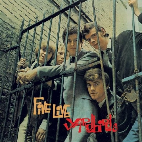 Five Live Yardbirds artwork
