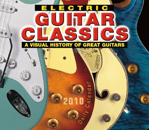Electric Guitar Classics 2010 Daily Boxed Calendar (Calendar)