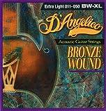 D 'angelico da BW XL Acoustic Bronze Wound Corde, occasion d'occasion  Livré partout en France