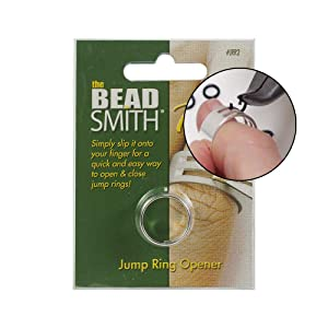 Beadsmith Jump Ring Opening and Closing Tool for Jewelry Makers (Update Version) (Color: Update Version)