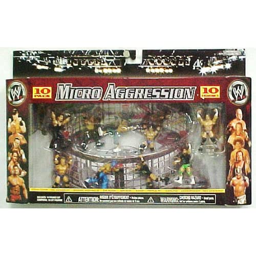 Amazon.com: WWE Wrestling Micro Aggression 10 Pack Series #3