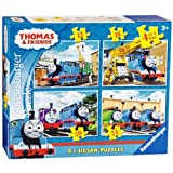Thomas and Friends Jigsaw Puzzles - 4-in-a-Box