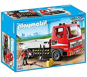 PLAYMOBIL City Action - amión de Construcción - 5283