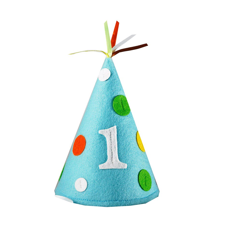 Creative Converting Sweet at One Boys Felt Party Hat, Child Size