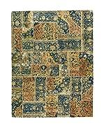 Eden Carpets Alfombra Pacthwork Verde/Azul/Multicolor 308 x 242 cm