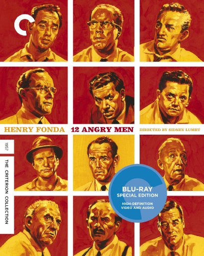 Blu-ray : 12 Angry Men (Criterion Collection) (Black & White, , Widescreen)