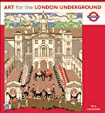 LONDON TRANSPORT MUSEUM 2014 ART FOR LONDON UNDERGROUND CALENDAR Wall N429