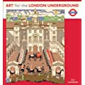 2014 ART FOR LONDON UNDERGROUND CALENDAR Wall N429