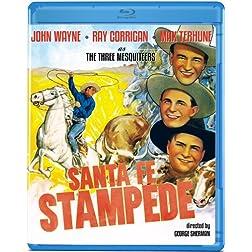 Santa Fe Stampede [Blu-ray]