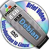 Debian 6 en 8GB USB Flash y completa de 3 discos DVD de instalación y de referencia del conjunto, de 32 y 64 bits