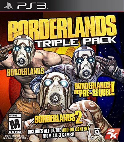 Borderlands Triple Pack - PlayStation 3 [Video Game]