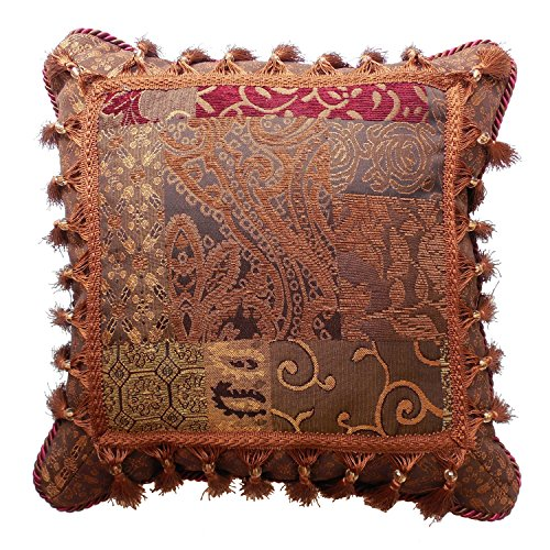 Galleria Red Fashion Pillow by Croscill