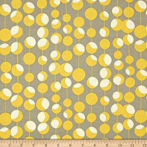 Amy Butler Midwest Modern Martini Mustard Fabric By The Yard