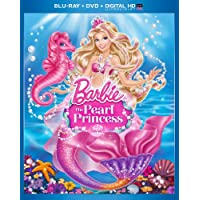 Barbie The Pearl Princess on Blu-ray