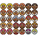 Crazy Cups Flavored Coffee Single Serve Cups for Keurig K Cups Brewer, 30 Count