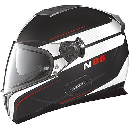 Nolan - Casque - N86 RAPID N-COM - Couleur : Flat black - Taille : XS