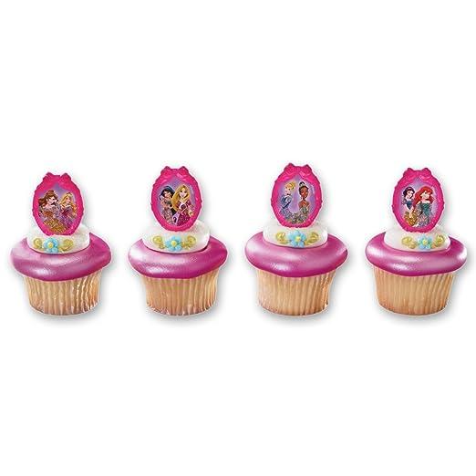 disney princess birthday cupcake rings birthday wikii