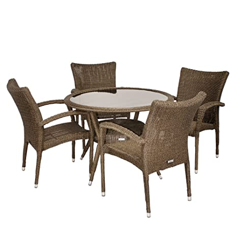 Atlantic Bari 5-Piece Dining Set