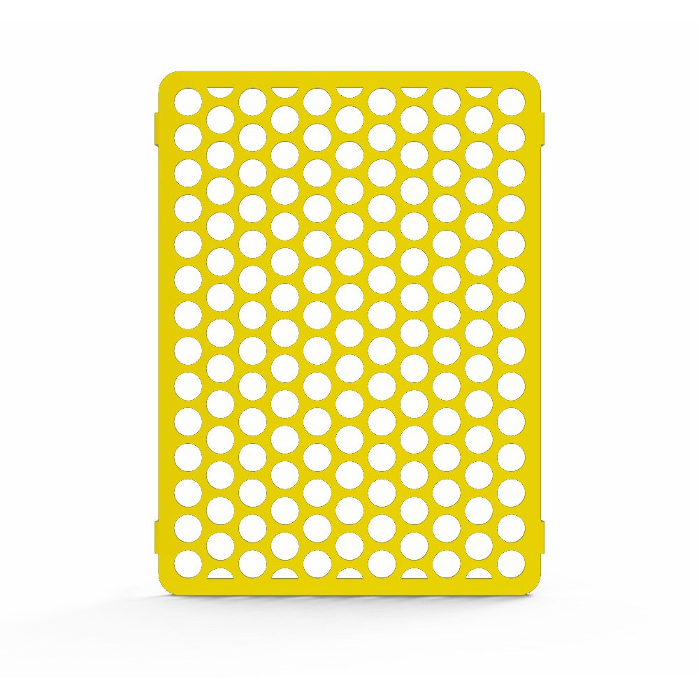 Circle Yellow Powdercoat Radiator Grill Guard Cover fits: 2009-2014 Kawasaki Vulcan 1700 Voyager VN1700 - Ferreus Industries - GRL-114-08-Yellow-04 for mt07 logo motorcycle radiator cover bezel grille guard protector aluminum for yamaha mt07 mt 07 fz07 fz 07 fj 2014 2015 2016