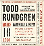 Live at the Warfield 10th March 1990