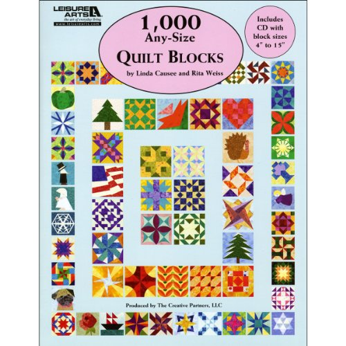Leisure Arts 1000 Any Size Quilt Blocks Book