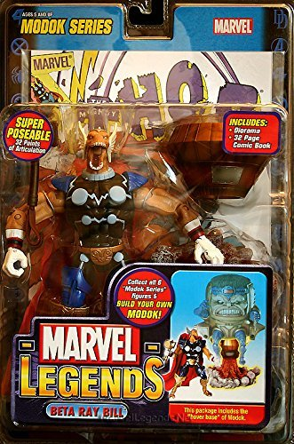 MARVEL LEGENDS MODOK SERIES BETA RAY BILL (Beta Ray Bill Action Figure compare prices)